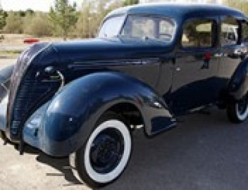 Hudson TerraPlane • 1937